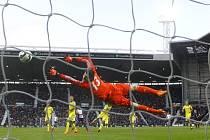 Thibaut Courtois dostal od West Bromwiche tři góly