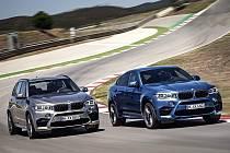 BMW X5 M a BMW X6 M.
