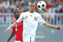 Česká devatenáctka porazila stejně starý výběr Anglie 2:0.