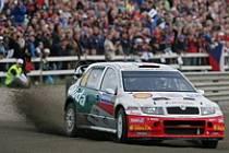 Jan Kopecký, Škoda Fabia WRC.