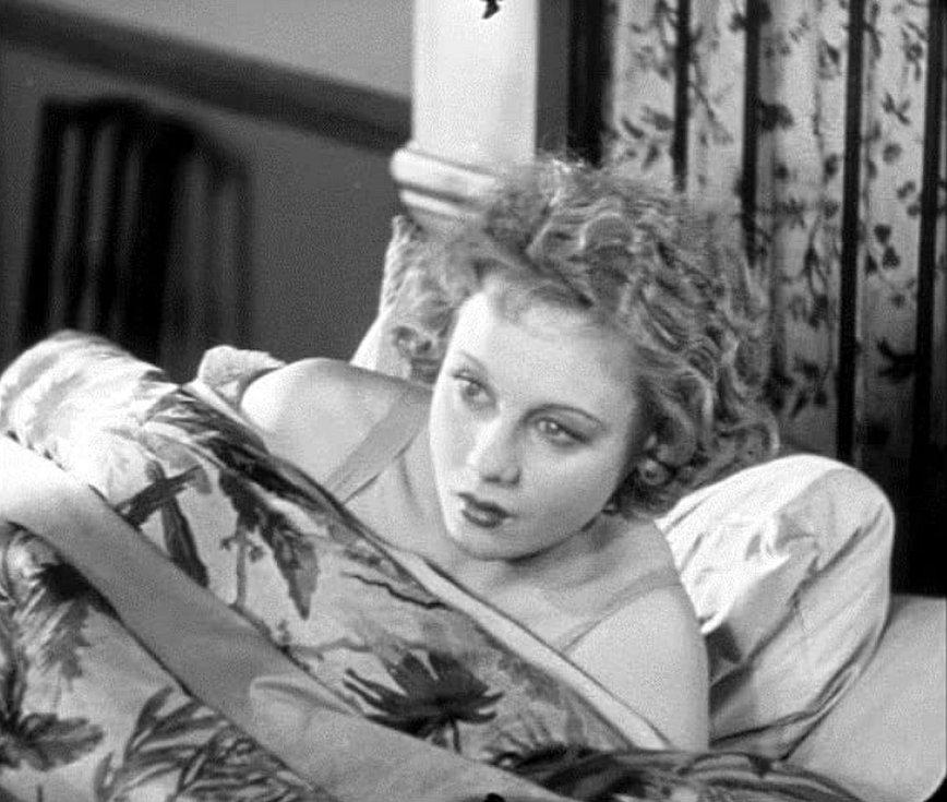 Anny Ondráková ve filmu Blackmail (1929)