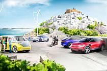 Řecký ostrov Astypalia bude možná ostrovem budoucnosti