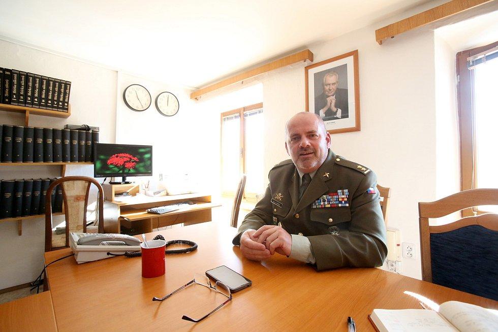 podplukovník Marián Varga, přednosta újezdního úřadu Boletice