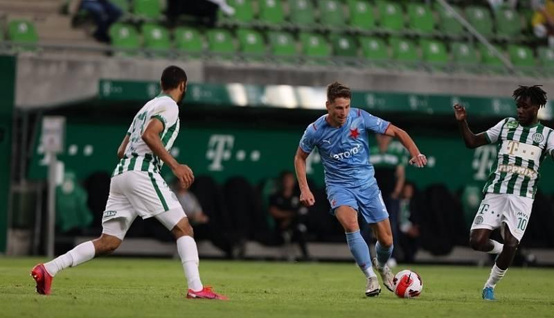 Slavia v předkole LM prohrála v Budapešti s Ferencvárosem.