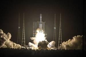 Start čínské rakety