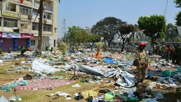Nepokoje v Egytě. Ilustrační foto