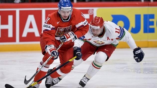 Petr Hubáček (vlevo) a Alexander Kulakov z Běloruska.