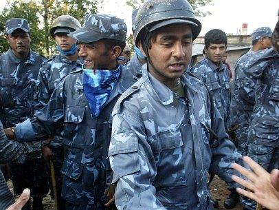 Nepálští policisté. Ilustrační foto