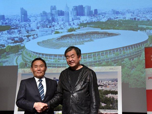 Japonci vybrali návrh pro hlavní olympijský stadion v Tokiu.