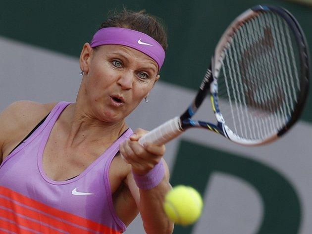 Lucie Šafářová na French Open.