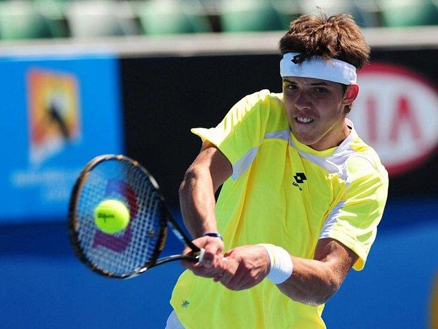 Jiří Veselý vyhrál juniorku na Australian Open.