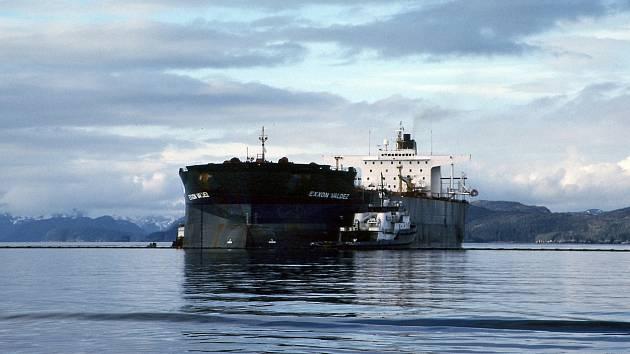 Ropný tanker Exxon Valdez