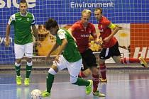 Futsalisté Chrudimi (v červeném) - ilustrační foto.