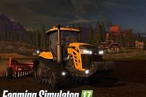 Počítačová hra Farming Simulator 17.