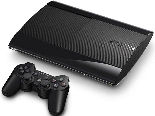 Nový model herní konzole Playstation 3.