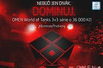 Turnaj Omen World of Tanks 3v3 Cup.