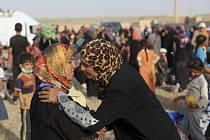 Z iráckého města Fallúdža se podařilo uprchnout dalším 4000 civilistů.  Ilustrační foto.