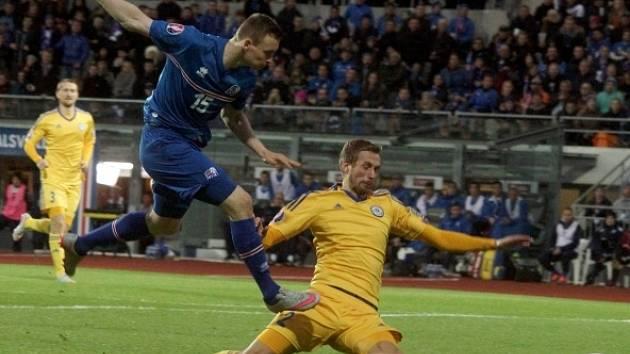 Island nedal Kazachstánu gól, ale to nikomu v Reykjavíku nevadilo