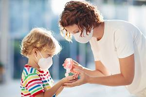 Koronavirus a děti - Ilustrační foto