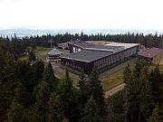 Černá hora v Krkonoších: horní stanice lanovky