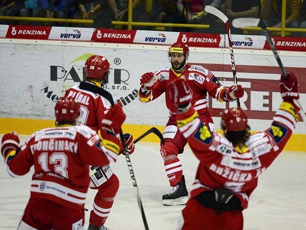 Šesté finále: Litvínov - Třinec a radost hostů