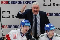 Trenér české hokejové reprezentace Miloš Říha