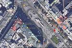 Třeba Prahu lze na mapovém portálu od společnosti Google vidět na satelitních snímcích s vysokým rozlišením.