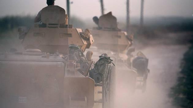 Turecká ofenziva v Sýrii byla zahájena