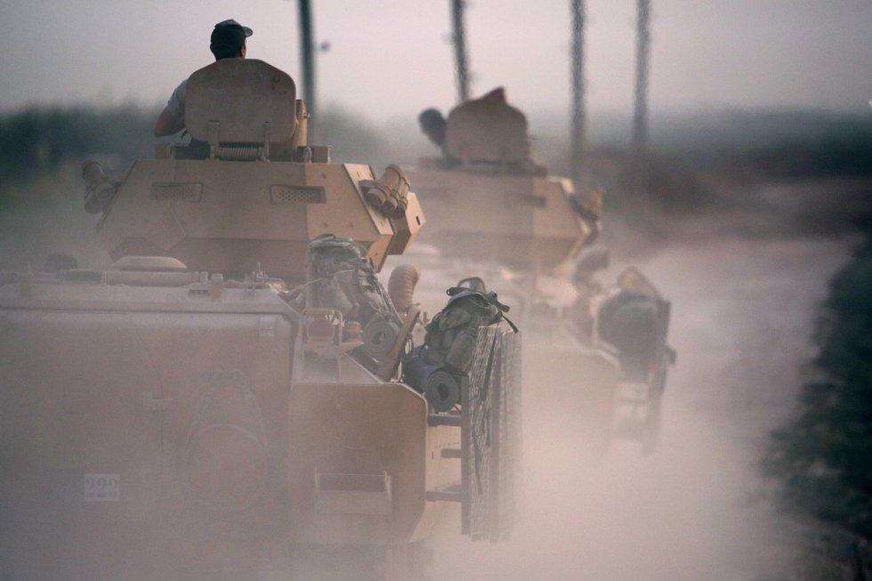 Na podzim se uskutečnila turecká ofenziva v Sýrii