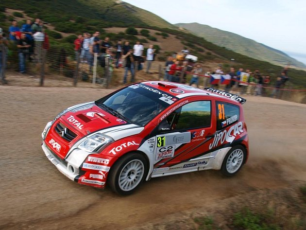 Do páté sezony v JWRC vstoupil Martin Prokop opět s osvědčeným Citroënem.