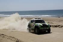 Stéphane Peterhansel na Rallye Dakar.