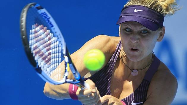 Lucie Šafářová na turnaji v Sydney.
