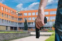 Útok střelce ve škole - Ilustrační foto