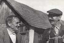 František Trubačík (vpravo), který schovával parašutisty