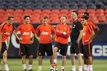 Fotbalisté Manchesteru United sice nad AS Řím vyhráli, ale děsit je může kiks gólmana Bena Amose.