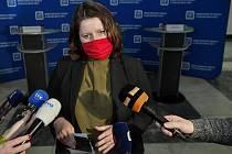 Ministryně práce a sociálních věcí Jana Maláčová (ČSSD)