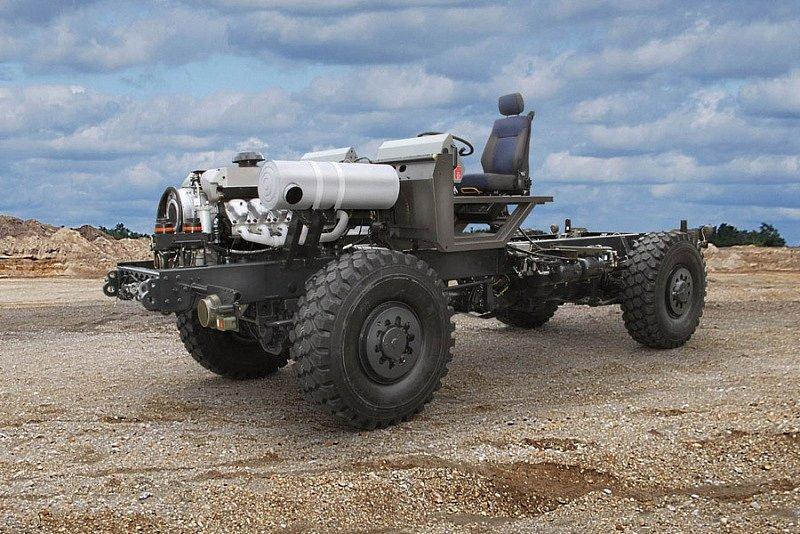 Podvozek pro vojenské speciály Tatra
