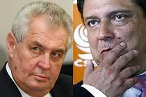 Zeman proti Paroubkovi. Zajímavý volební souboj se chystá v Ústecku.