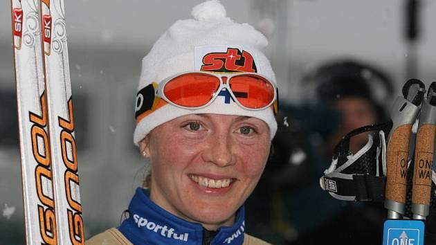 Finka Virpi Kuitunenová.