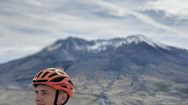 Cyklista Petr Vakoč
