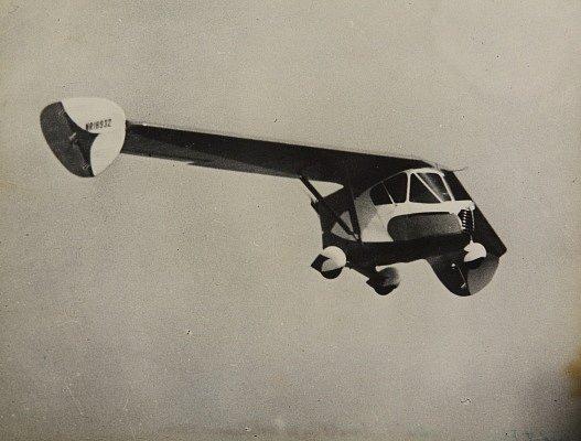První létající automobil v historii - Waterman Arrowbile