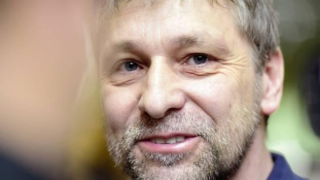 Trenér Josef Jandač.