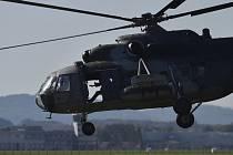 Vrtulník Mi-17 české armády
