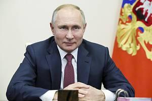Ruský prezident Vladimir Putin (na snímku z 30. prosince 2020)