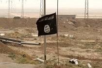 Islámský stát - vlajka, ilustrační foto