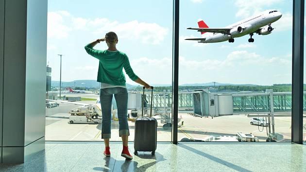 Dovolená a létání - Ilustrační foto