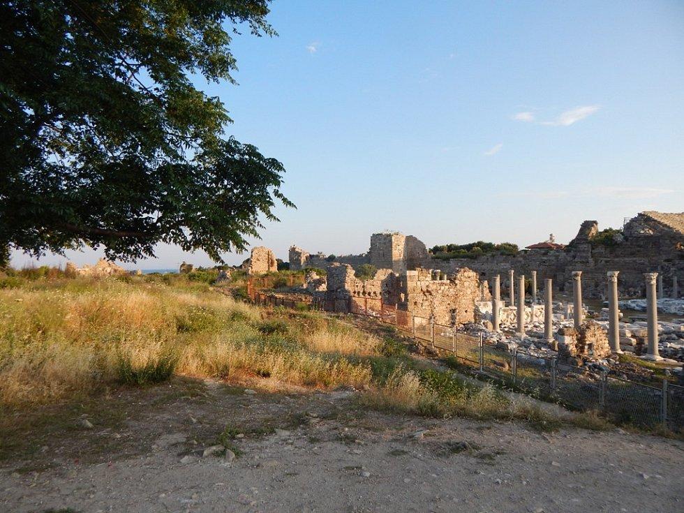 Alanya: město Side je antického původu
