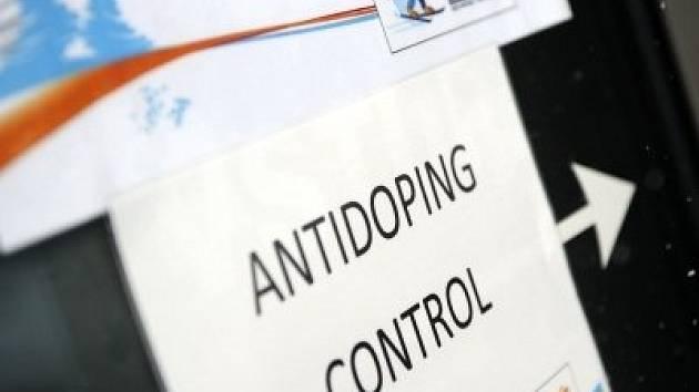 Ilustrační foto - dopingová kontrola.