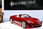 Ženevský autosalon: Lexus LF-A Roadster