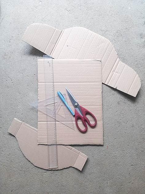 Výroba postýlky pro plyšáka
